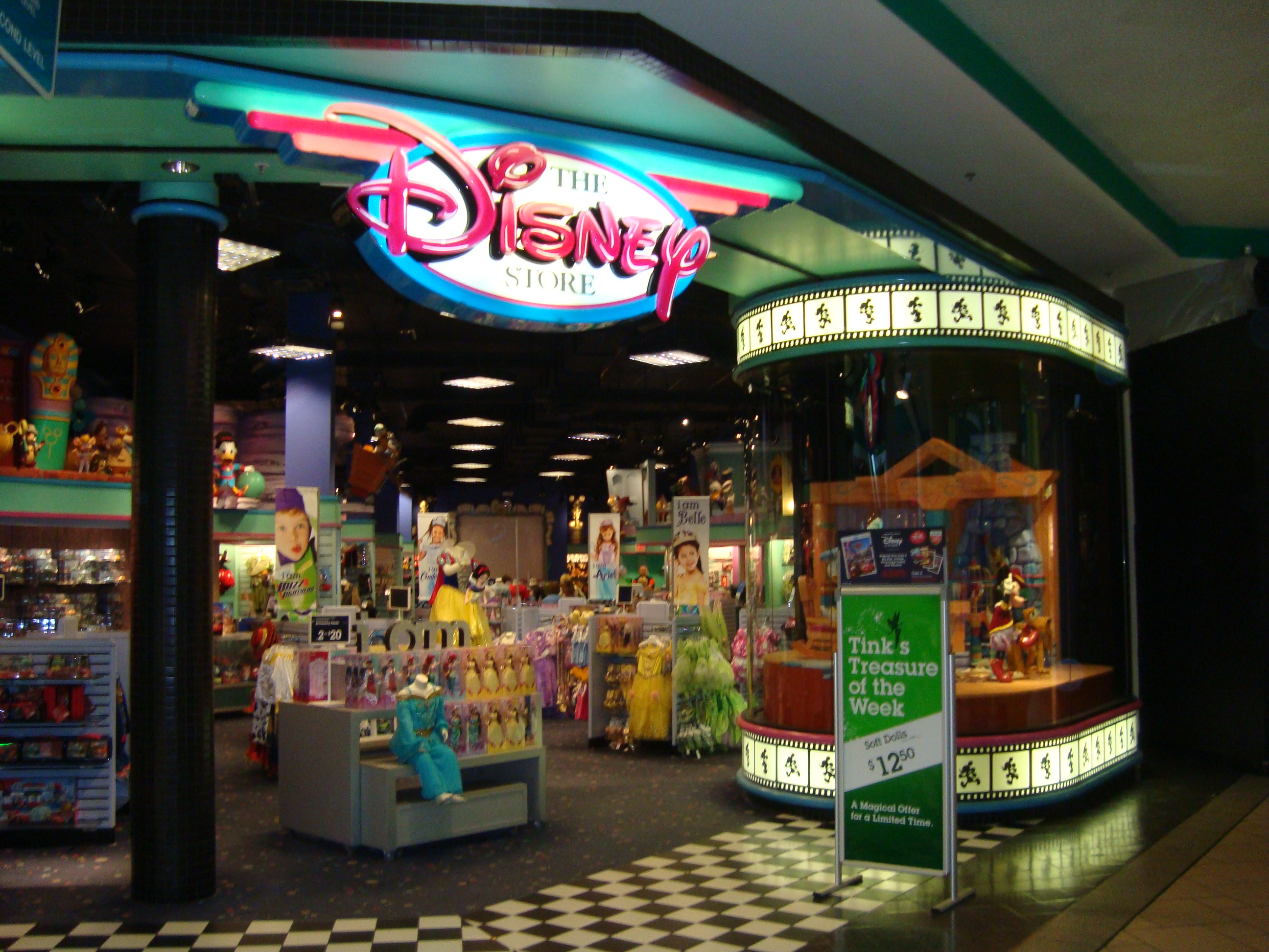 Disney Store - Carousel Mall - Syracuse, N.Y. Image on