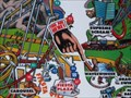 Image for Knotts Berry Farm Fiesta Plaza You Are Here Map