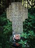Image for Stein am Kölner Rheinufer erinnert an ein Verbrechen vor 250 Jahren, Köln, NRW, Germany