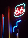 Image for Lighting Route 66 - Artistic Neon - Albuqerque, New Mexico, USA.