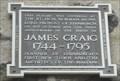 Image for James Craig - Edinburgh, Scotland