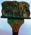 Image for Village Sign, Aston, Herts, UK