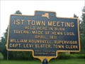 Image for 1st Town Meeting - Slaterville Springs, NY