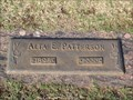 Image for 102 - Alta E. Patterson - Chapel Hill Cemetery - OKC, OK