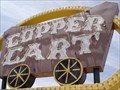Image for Copper Cart Neon - Route 66, Seligman, Arizona, USA.