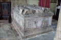 Image for Andrewes' Chest Tomb and Wall Tablet, Church of the Holy Trinity, Church Charwelton, Northants.