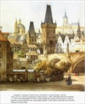 Image for Lesser Town Bridge Towers  by F. X. Sandmann - Prague, Czech Republic