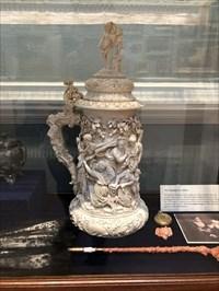 1880's ivory stein