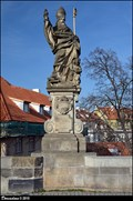 Image for St. Augustine on Charles Bridge / Sv. Augustýn na Karlove moste (Prague)