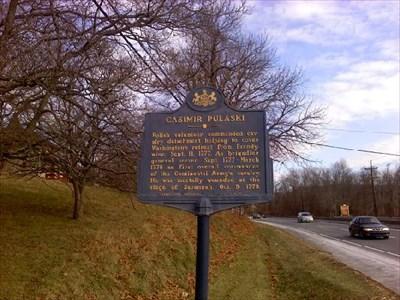 Brandywine Pulaski sign