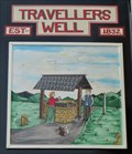 Image for Travellers Well - Pub Sign - Cwmdu, Swansea, Wales.