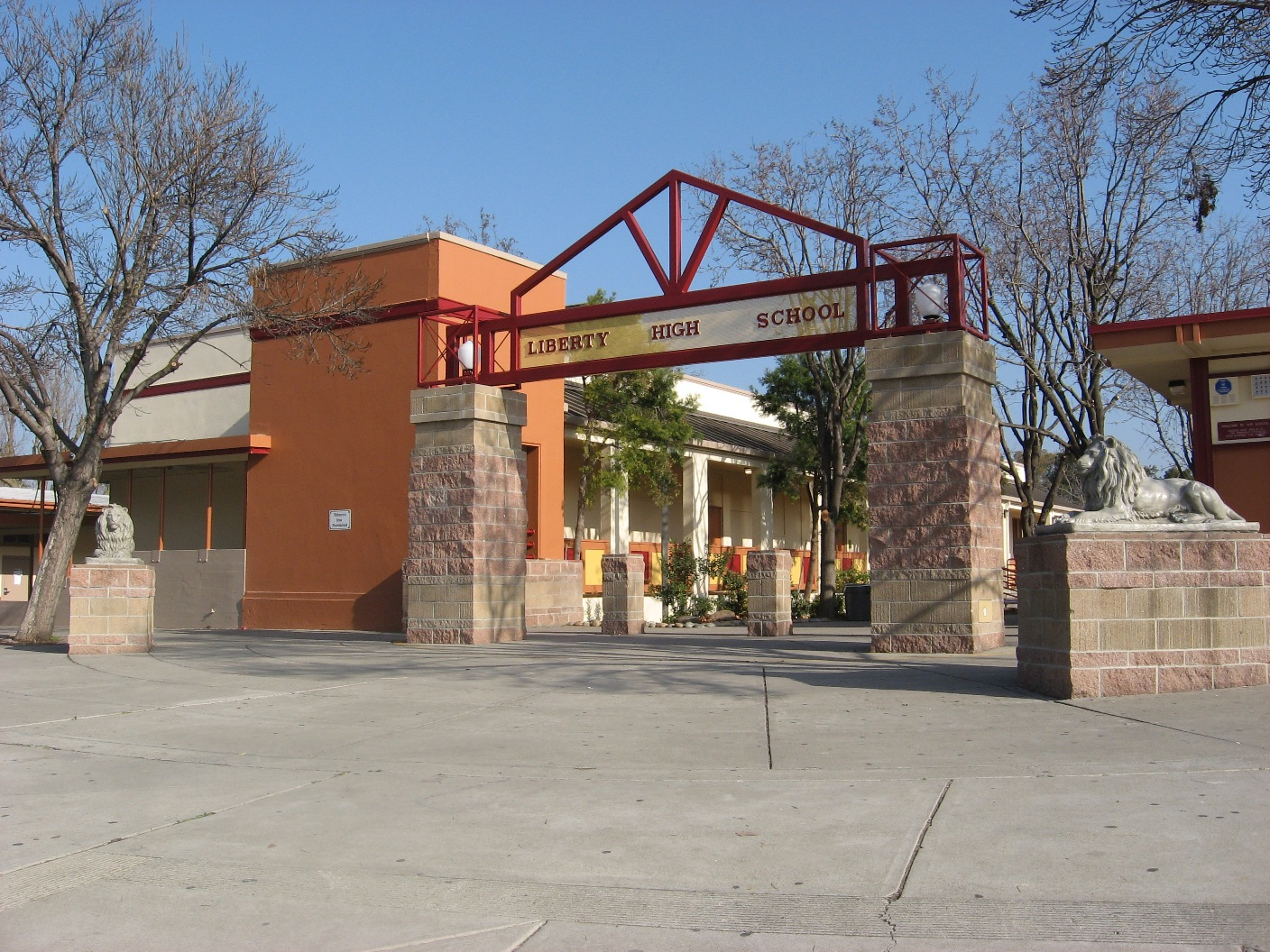 Liberty high school brentwood california for The brentwood