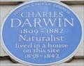 Image for Charles Darwin - Gower Street, London, UK