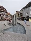 Image for Brunnen am Vorstadtplatz, Nagold, Germany, BW