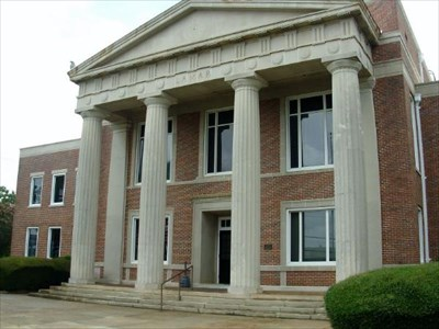 Lamar County Courthouse-Barnesville, Georgia - Courthouses ...