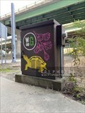 Image for Woonasquatucket River Greenway painted utility box 1 - Providence, Rhode Island