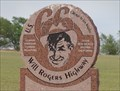 Image for Historic Route 66 - Will Rogers Highway - Texola, Oklahoma, USA.