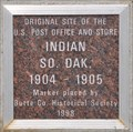 Image for Indian South Dakota Post Office