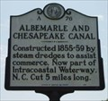 Image for Albemarle and Chesapeake Canal --- A-76