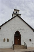 Image for Sagrado Corazon de Jesus (Sacred Heart) Catholic Church - Shafter Mining Historic District -- Shafter TX