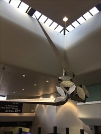 The Hesperides, One Piece, SFO Terminal 3, San Francisco, California