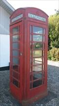 Image for Red Telephone Box - Borup Byvej, Randers, Denmark