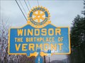 Image for Windsor the Birthplace of Vermont