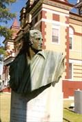 Image for David Crockett Memorial Bust  -  Trenton, TN