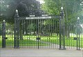Image for War Memorial Park gate, Stourport-on-Severn, Worcestershire, England