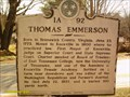 Image for Thomas Emmerson- 1A-92