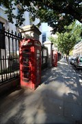 Image for Red Telephone Boxes - Montague Street, London, UK