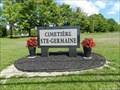 Image for Cimetière de Ste-Germaine-de-Lac-Etchemin, Qc, Canada