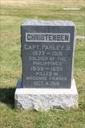 Image for Capt. Parley B. Christensen - Salt Lake City Cemetery - Salt Lake City, UT