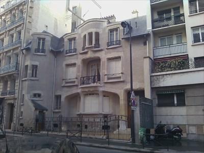 h tel mezzara 60 rue de la fontaine paris france art deco art nouveau on. Black Bedroom Furniture Sets. Home Design Ideas
