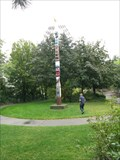 Image for 2 Totems at Upper Falls Riverfront Park, Spokane WA