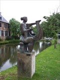 Image for The lady with the harp - Wijnandsrade