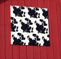 Image for Cow Spot Barn Quilt – Northwood, IA