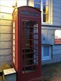 Image for Red Telephone Box Esplanade - Hamburg, Germany