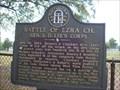 Image for Battle of Ezra Church-Gen. S. D. Lee's Corps GHM 060-148, Fulton Co.