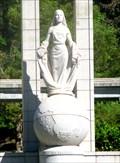 Image for Huguenot Monument Female Figure - Franschhoek, South Africa