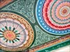 Ceiling detail of the Sri Mariamman Temple - Singapore