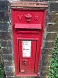 Image for Victorian Pillar Post Box - Pulborough Wild Brooks, West Sussex, UK