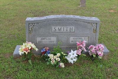 Amplias and Martha Smith, community benefactors