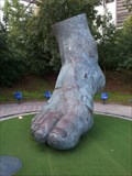 Image for The Foot of Uwe Seeler - Hamburg, Germany
