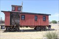 Image for ATSF Wooden Caboose -- Former ATSFRR Harvey House, Slaton TX