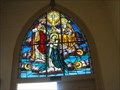 Image for Mary and the Trinity - Immaculate Conception Catholic Church - Tres Pinos, California
