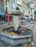 Image for Fontaine du marché