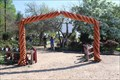 Image for Planting Pot Arch -- Antique Rose Emporium, Independence TX
