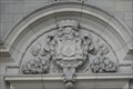 Image for County Borough Coat Of Arms On College Building - Bradford, UK
