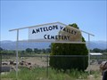 Image for Antelope Valley Cemetery - Mono County, CA